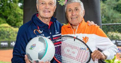 Kick-off OldStars tennis in Oldenzaal