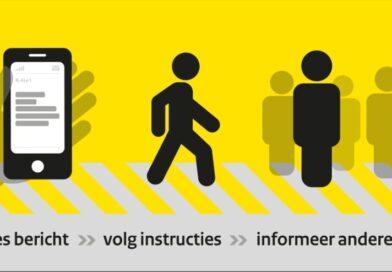 Maandag 7 juni wordt een NL-Alert testbericht verzonden